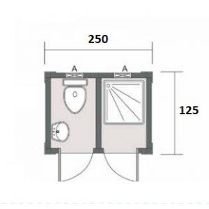 Konteyner wc banyo